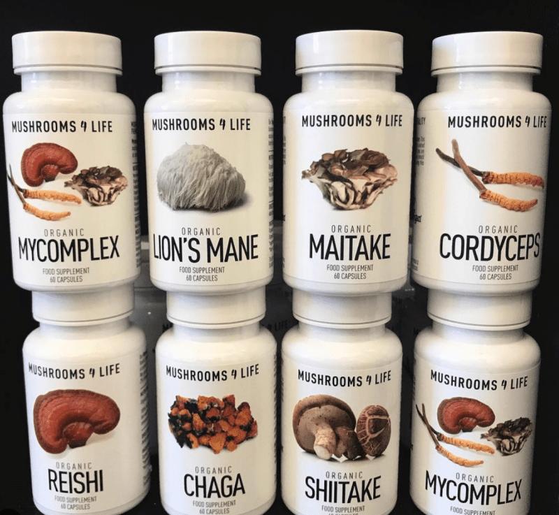 mushroom capsules