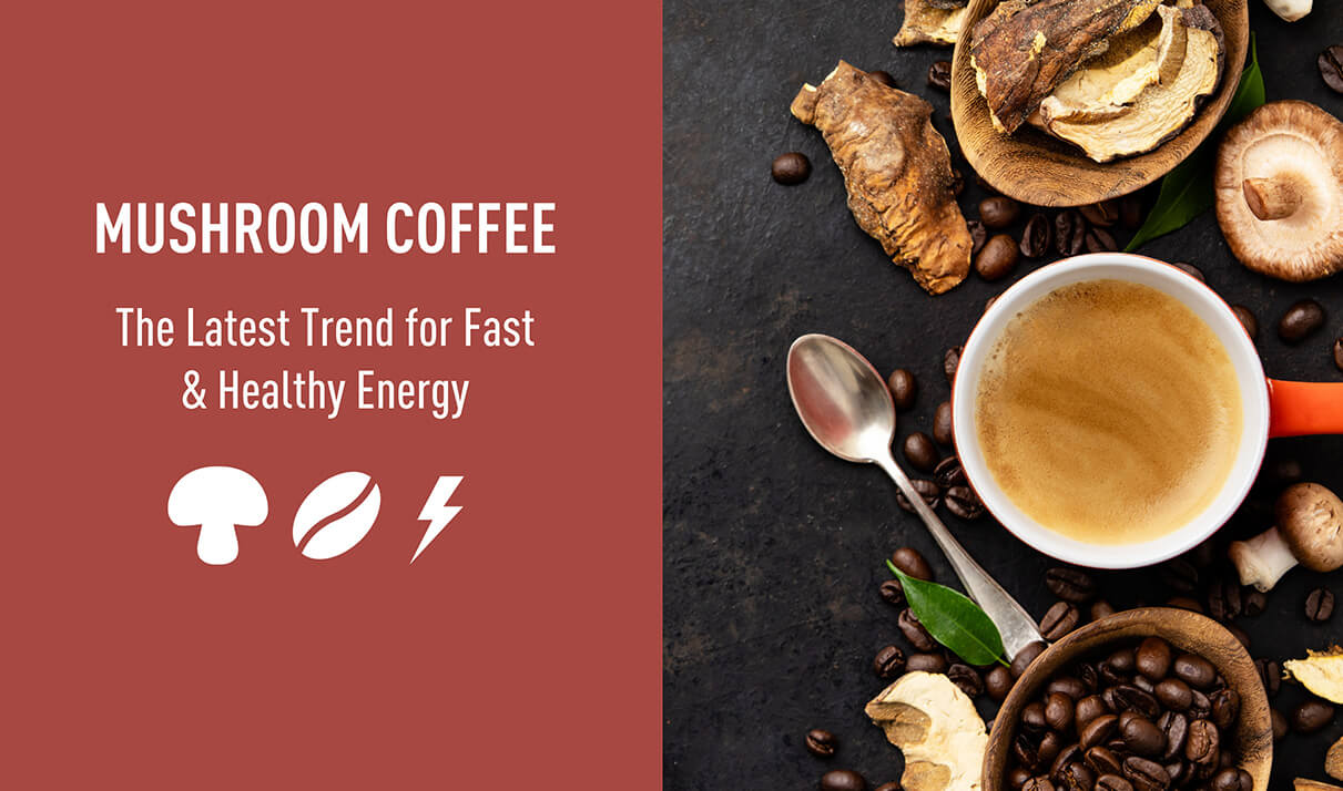 mushroom coffee trends